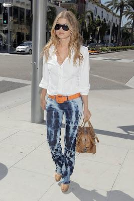 fergie in jeans