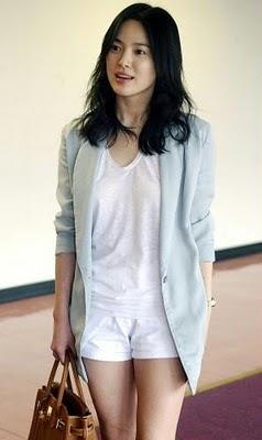 Fashion Circus Korean Actress Song Hye Kyo