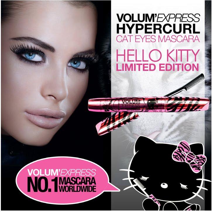 Maybelline Volum Express Cat Eyes Mascara hd image