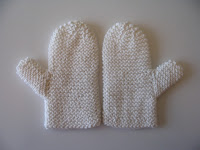 Child's bath mitts