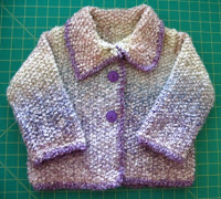 Seed Stitch Coat-Finished
