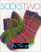 Book cover: Vogue Knitting Socks Two