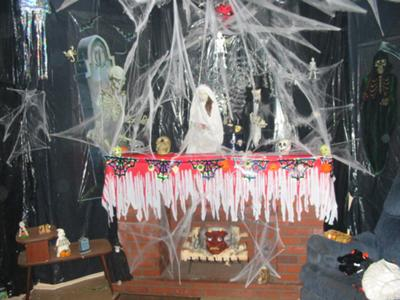 Decoraci n fiesta de halloween decoraci n for Decoracion fiesta halloween