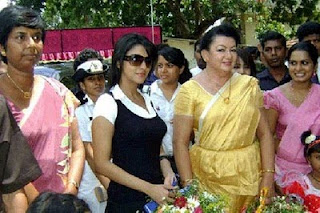 Asin visits Jaffna and Vavuniya