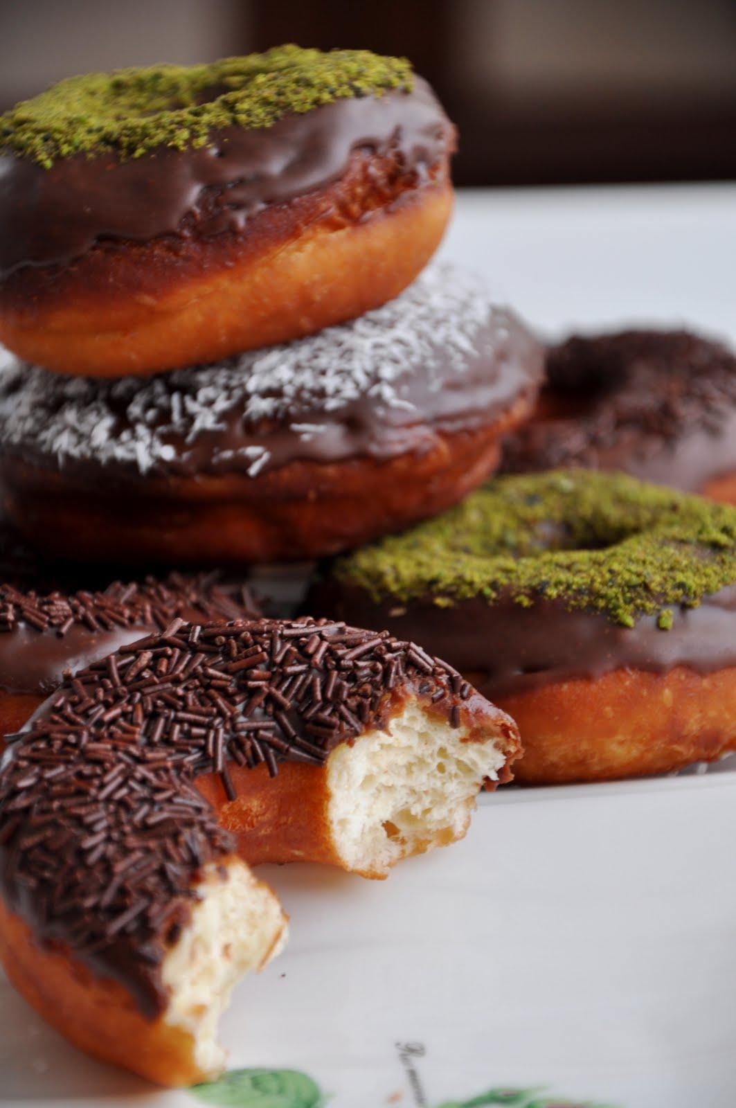 Donut tarifi(resimli anlatım)