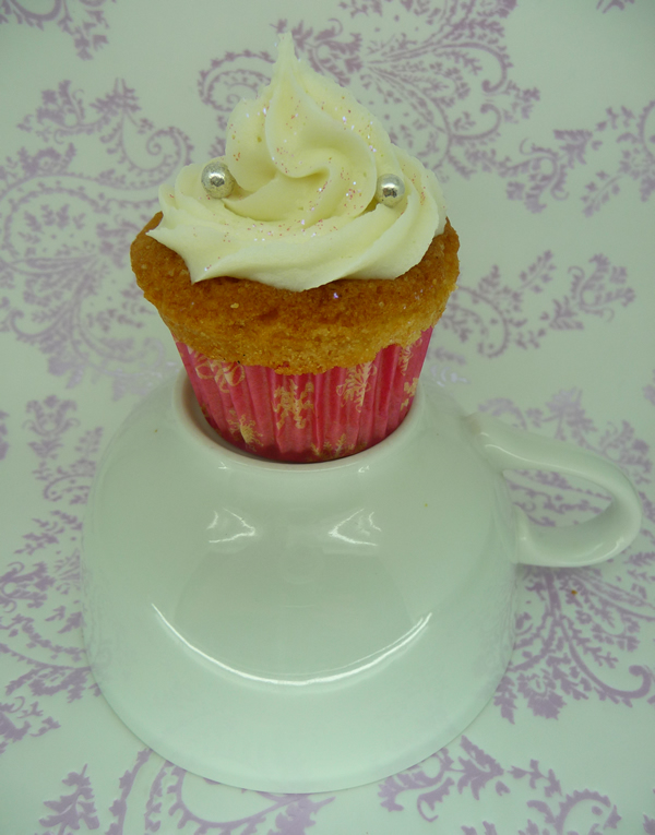 found a recipe HERE for Lily Vanilli's Lavender and Honey Cupcakes.