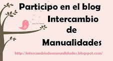 Participo en el blog intercambio de manualidades