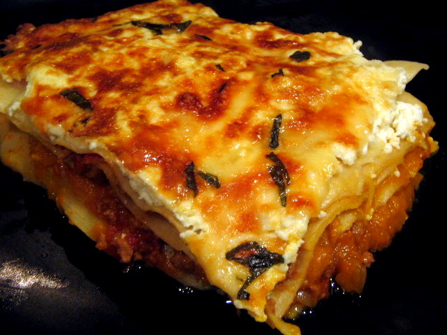 lasagne winter greens lasagne pumpkin lasagna adapted from pumpkin ...