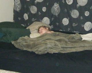 Sasha Sleeping