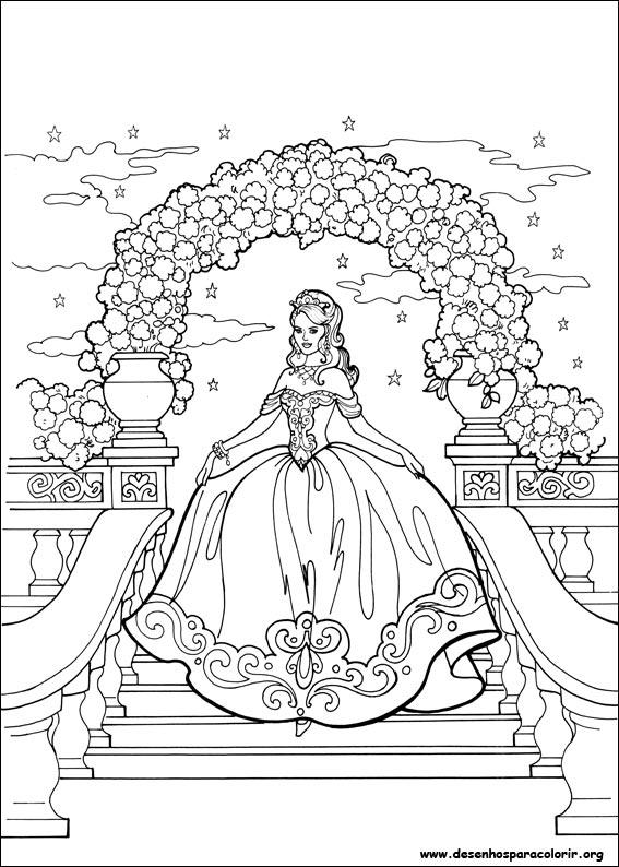 Desenhos Para Colorir Da Princesa Leonora Detailed Princess Coloring Pages Printable