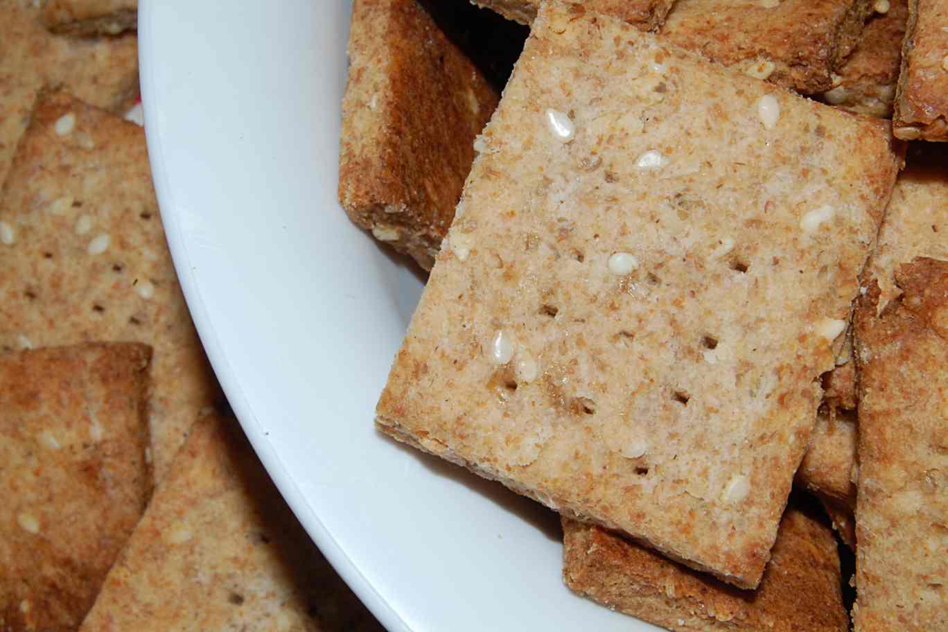 how to make homemade rice crackers