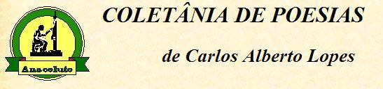 Coletânia de poemas de Carlos Alberto Lopes