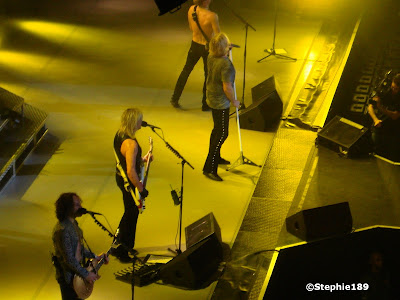 Vivian Campbell, Rick Savage, Joe Elliott, Phil Collen; Def Leppard, 2007!