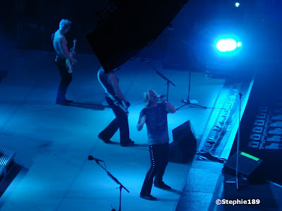 Joe Elliott, part of Rick Savage, sorry Rick, that speaker again, and Phil Collen -- Def Leppard 2007!