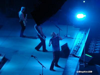 Joe Elliott, part of Rick Savage, sorry Rick, that speaker again, and Phil Collen -- Def Leppard 2007!