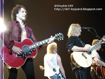 Vivian Campbell, Rick Savage, Joe Elliott, Phil Collen - Def Leppard - 2008