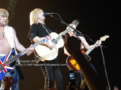 Rck Savage, Joe Elliott, & Phil Collen - Def Leppard - 2008