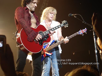 Vivian Campbell and Rick Savage - 2008 - Def Leppard