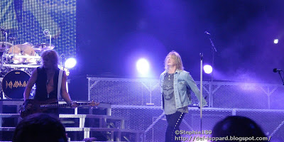 Rick Savage and Joe Elliott - Def Leppard - 2008