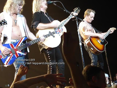 Rick Savage, Joe Elliott, & Phil Collen - Def Leppard - 2008