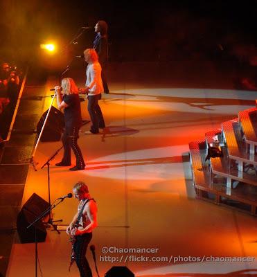 Phil Collen, Joe Elliott, Rick Savage, & Vivian Campbell - Def Leppard - 2008