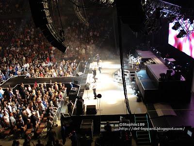 Joe Elliott, Rick Allen, Phil Collen, Rick Savage, & Vivian Campbell - Def Leppard - 2008