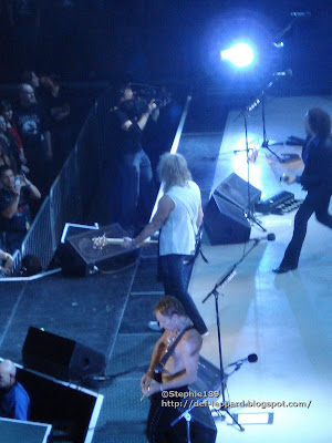 Phil Collen, Rick Savage, & Vivian Campbell - Def Leppard - 2008