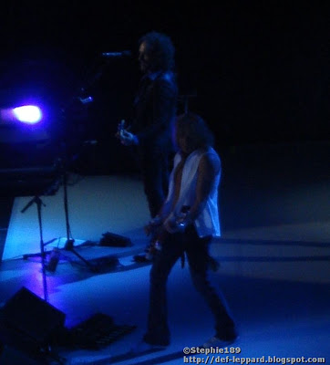 Rick Savage and Vivian Campbell - Def Leppard -  2008