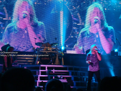 Rick Savage, Rick Allen and Joe Elliott - Def Leppard - 2008