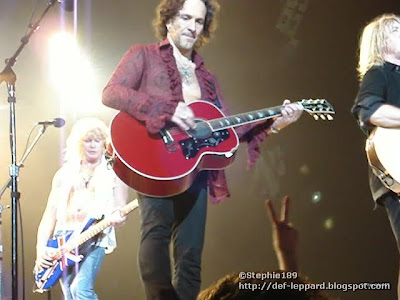 Sav, Viv, and Joe - Def Leppard - 2008