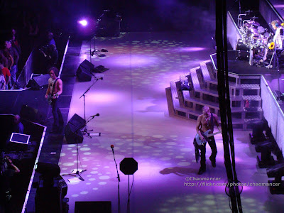 Phil Collen, Vivian Campbell, and Rick Allen  - 2008 - Def Leppard