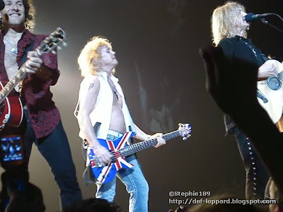 Viv, Sav, and Joe - Def Leppard - 2008