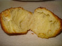 Slightly under beaten popover but still quite yummy