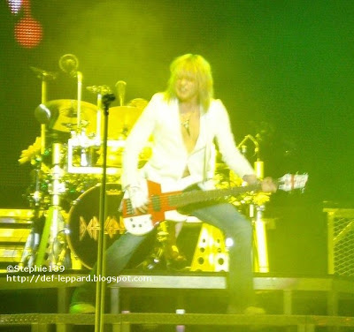 Rick Savage (and Rick Allen) - Def Leppard - 2008