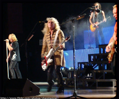 Joe Elliott, Rick Savage, Vivian Campbell, and Phil Collen - Def Leppard - 2009