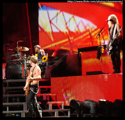 Phil Collen, Rick Allen, and Rick Savage - 2009 - Def Leppard