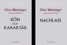 Otto Weininger: Samlade skrifter 1-2