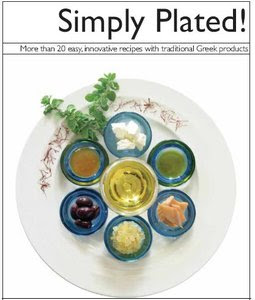 """Panagiotis Drossos, """"Simply Plated! More than 20 Innovative recipes with traditional Greek Products"""""""