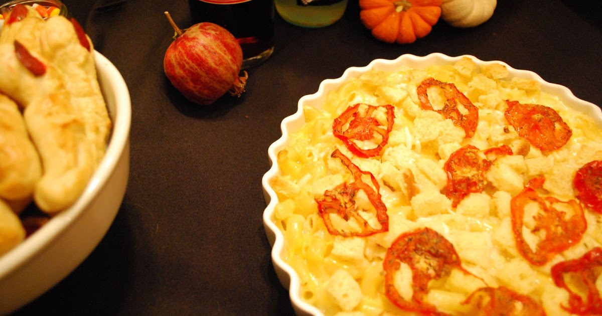 the dish on delish: macaroni & cheese gratin