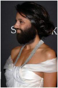 topiabuabu.blogspot.com - Inidia Wanita Cantik Yang Berkumis Di Dunia
