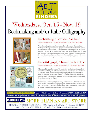 Anne Elser Sign Up For Italic Calligraphy Bookmaking