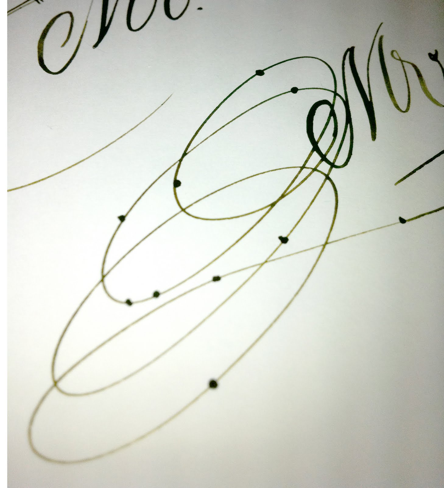 Anne elser january 2011 Anne elser calligraphy