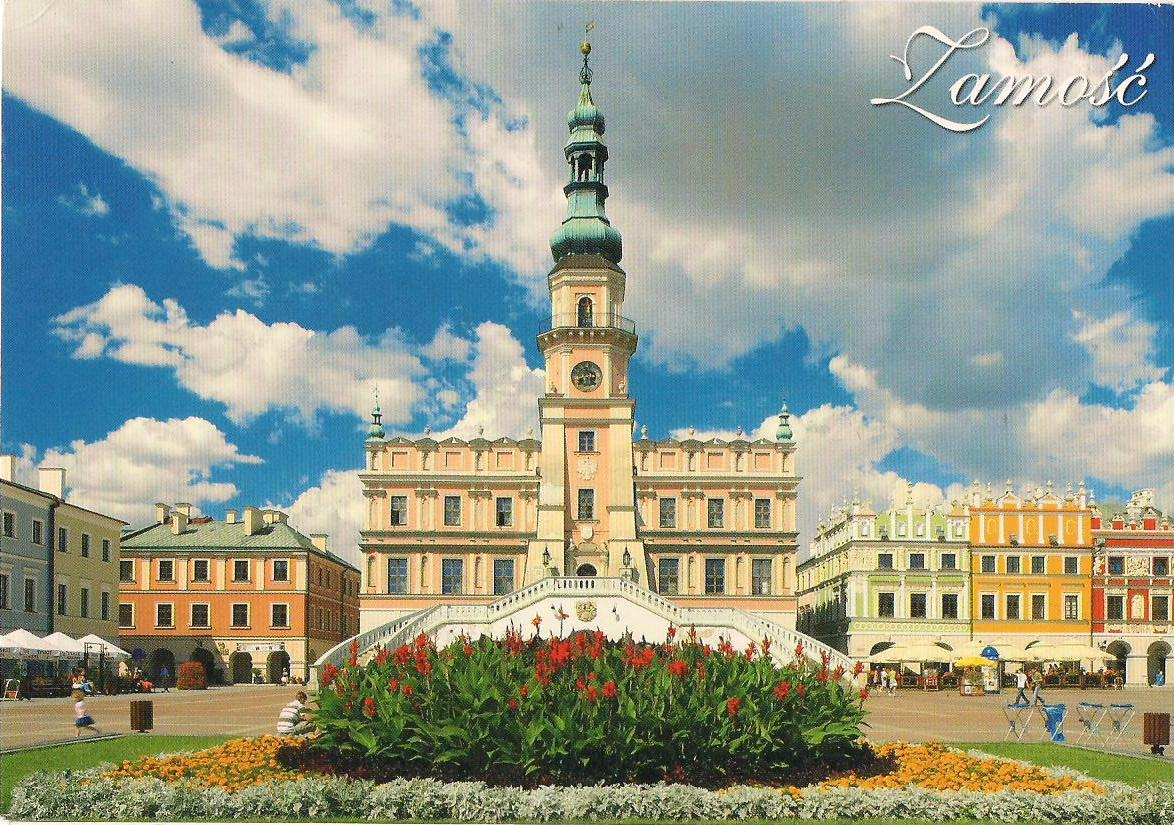Zamosc Poland  city photo : MY UNESCO WHS POSTCARDS COLLECTION: POLAND Old City of Zamość