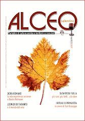 """Copertina della rivista """"Alceo""""."""