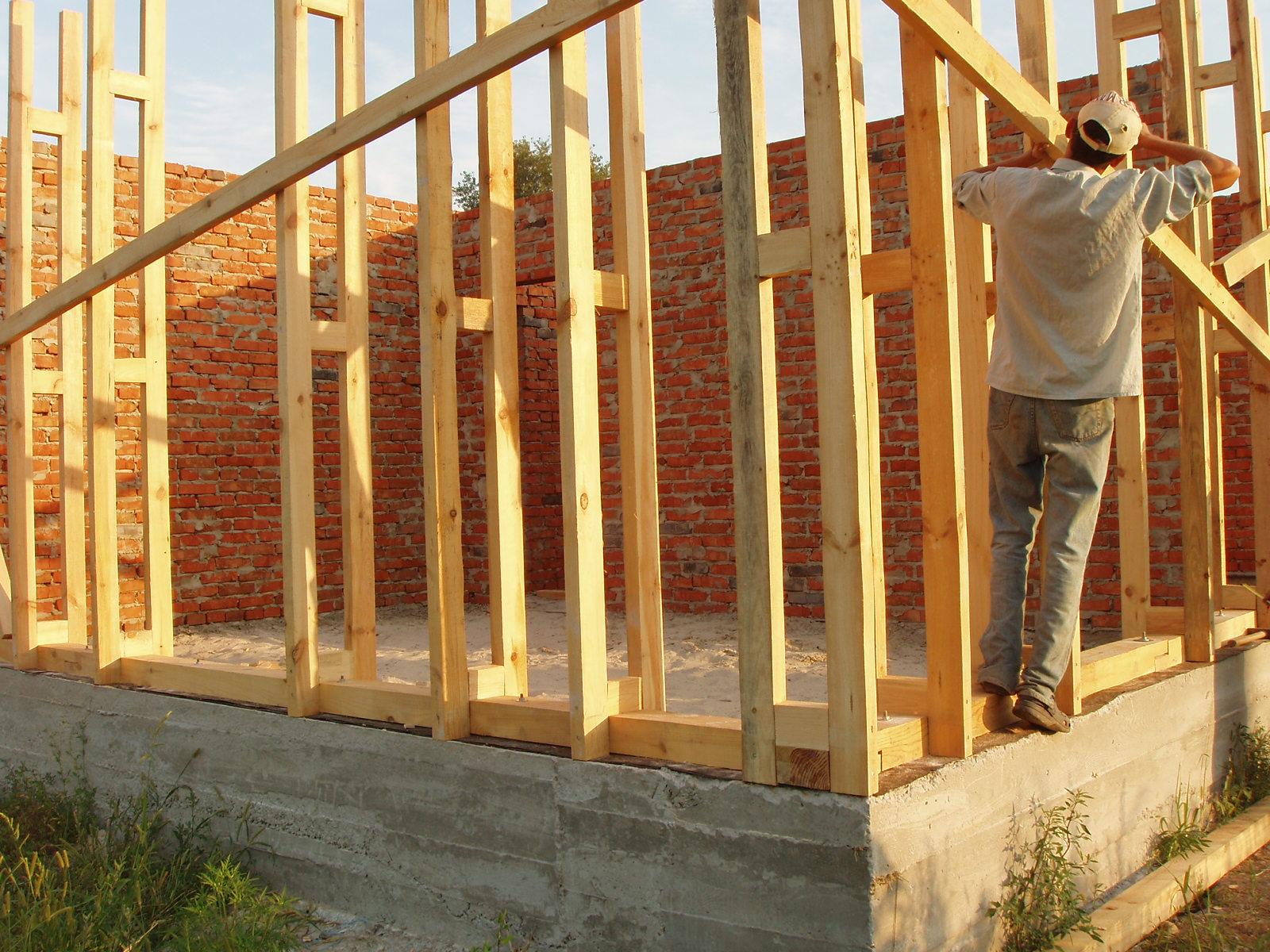Дом из опилкобетона своими руками - как построить дом 99