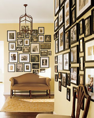 An Urban Cottage: Salon Style Art