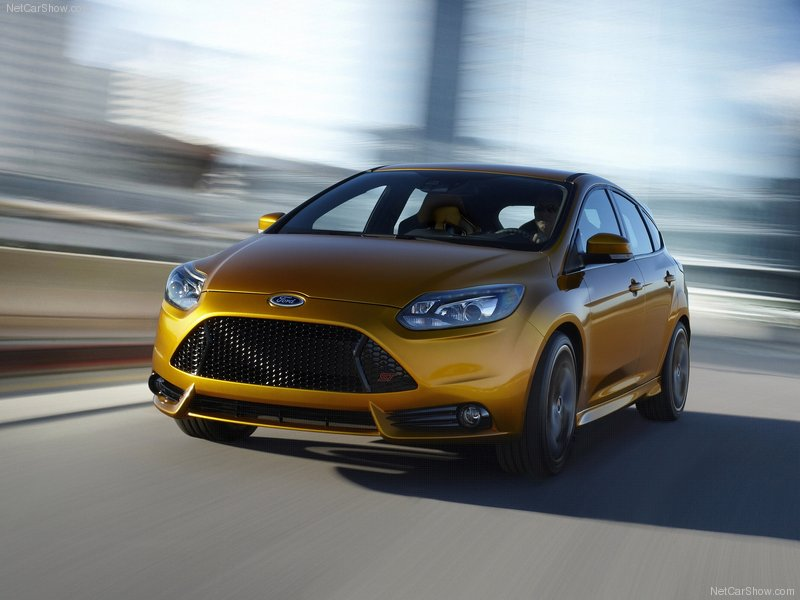 Novo Ford Focus ST 2012. Veja o novo designe do novo Ford Focus Para 2012.