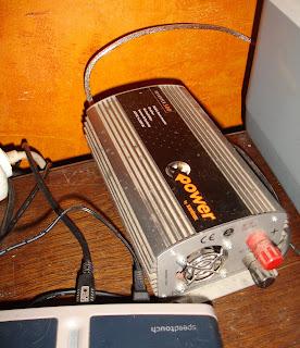 300watt inverter runs printer external hard disk etc.