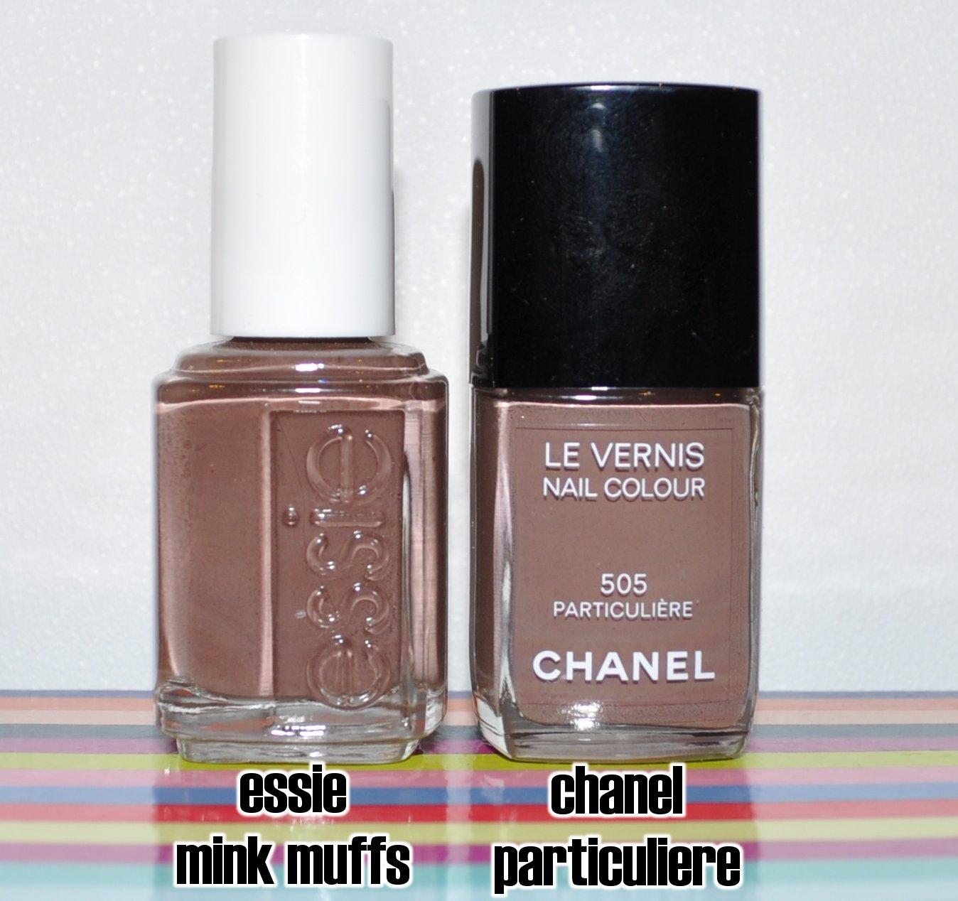 thatleanne chanel particuliere vs essie mink muffs. Black Bedroom Furniture Sets. Home Design Ideas
