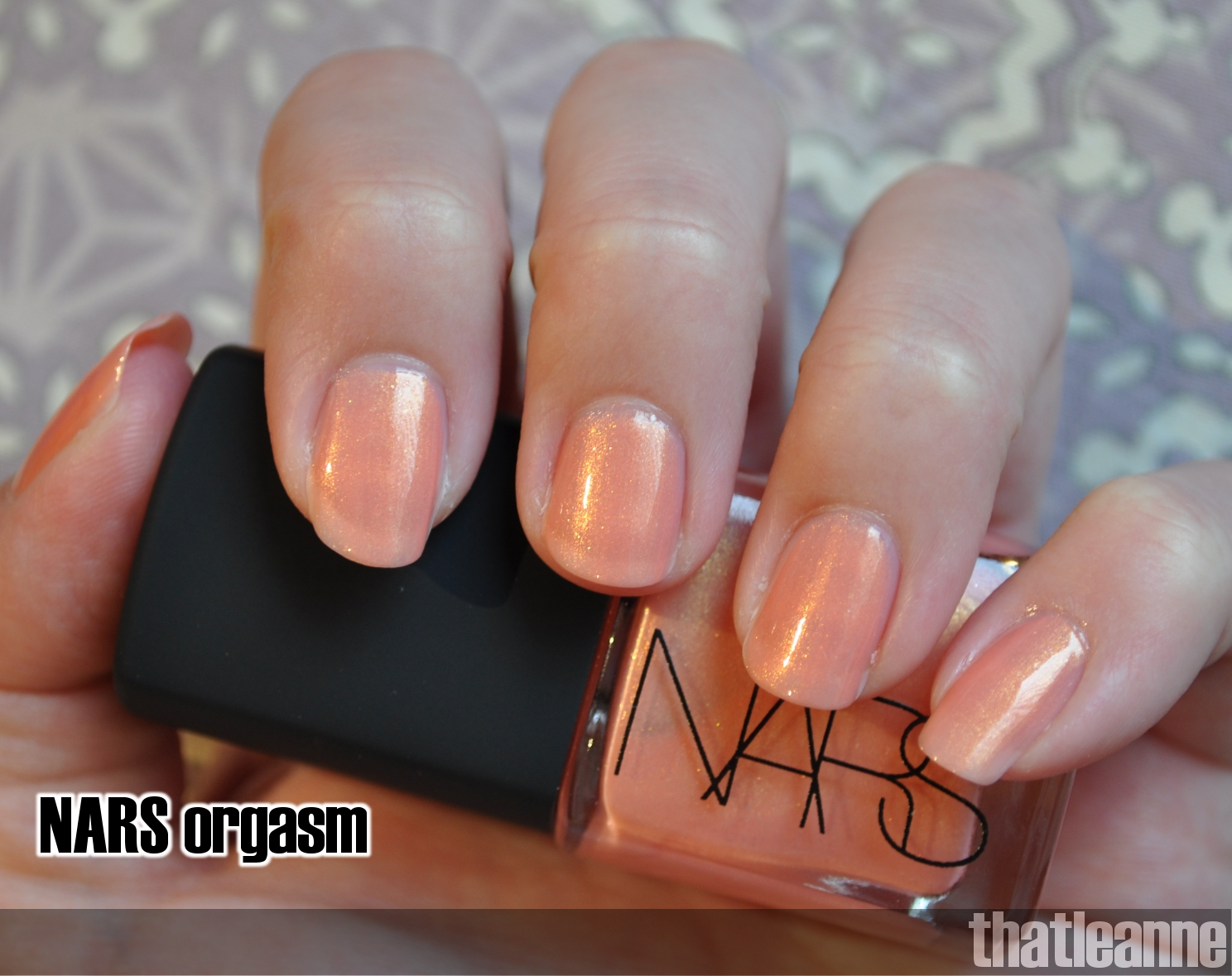 thatleanne: NARS Orgasm Nail Polish for back to work nails ;-)